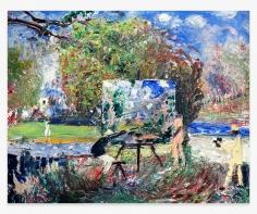JOHN BRADFORD Cézanne en Plein Air, 2019