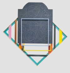 ANDREW LYGHT Painting Structures P340, 2018-2019