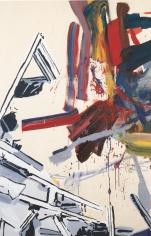 Buzz Aldrin, 2001  Oil, enamel, spray enamel and acrylic on canvas  84h x 60w x 1d in  LR2001002  Collection Greece