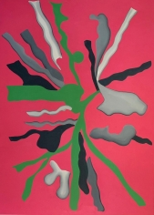 LES ROGERS  Sound and Vision, 2020  Oil on canvas  84h x 60w x 1 1/4d in  Collection Seattle