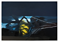 LES ROGERS  Summer Night, 2007  Oil on canvas  76h x 108w x 1 1/4d in