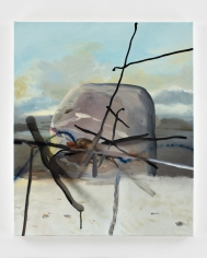 LES ROGERS  Markers, 2008  Oil on canvas