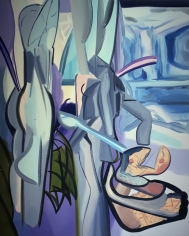 LES ROGERS  River Bathers, 2005  Oil on canvas