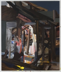 LES ROGERS  Becoming Home, 2009  Oil on canvas