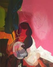Faint, 2006  Oil on canvas  84h x 66w x 1 1/4d in  LR2006006  Collection Mark Rosman