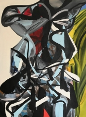 LES ROGERS  Royal Girl, 2006  Oil on canvas