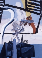 LES ROGERS  Seem To Find, 2004  Oil on canvas