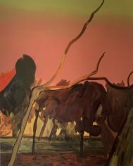 LES ROGERS  Sundowner, 2003  Oil on canvas