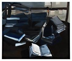 Open, 2007  Oil on canvas  60h x 72w x 1d in  LR2007014  Collection Chevet, Paris