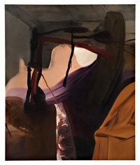 LES ROGERS  Feel The Way, 2007  Oil on canvas  72h x 60w x 1d in
