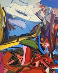 LES ROGERS  Tropic Climb, 2004  Oil on canvas