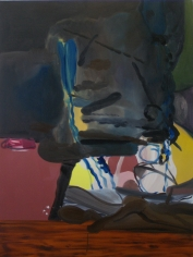 LES ROGERS  Night Reading, 2010  Oil on canvas  48h x 36w x 1d in