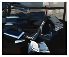 LES ROGERS  Open, 2007  Oil on canvas  60h x 72w x 1d in