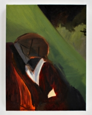 LES ROGERS  Melancholy, 2008  Oil on canvas  24h x 18w x 3/4d in
