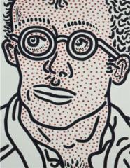 Keith Haring Skarstedt Publication Book Cover