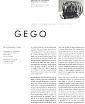 Gego | Visible Magazine