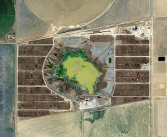 Mishka Henner: The Surreal Beauty of Feedlots by Satellite