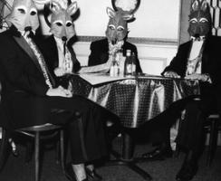 Rosalind Fox Solomon - Foxes Masquerade, 1993 Gelatin silver print | Bruce Silverstein Gallery