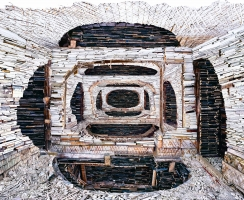 The Artist Turning Destroyed Buildings into Mesmerizing Works of Art