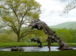 Lynda Benglis at Storm King Art Center