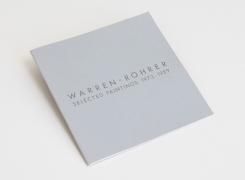 Warren Rohrer: Selected Paintings (1973–1989)