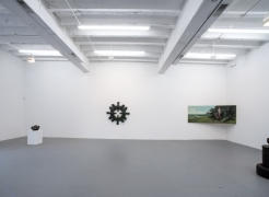 THE WORKS: RECENT PAINTING, SCULPTURE, VIDEO