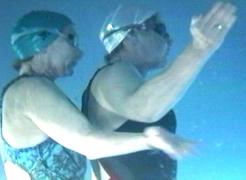 EXPERIMENTAL VIDEO (2) + SYNCHROSWIM