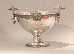 NYYC Tiffany Silver America's Cup Presentation Bowl given to Captain Dickerson