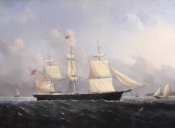 "Ship ""Harry Bluff"" by William Bradford"