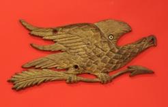 Bellamy Cast Brass Gilded Eagle