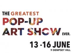 The Greatest Pop-up Art Show Ever.