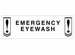 Emergency Eyewash: John Yau