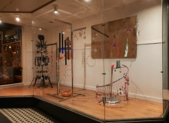See It Swimming: Sound Paintings and Sculptures by Susan Jennings