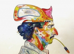 Luis Cruz Azaceta: Self Portraits: Watercolors and Drawings 1977-1981