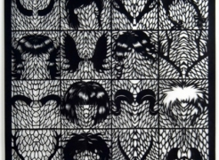 Kako Ueda: Recent Paper Cutouts