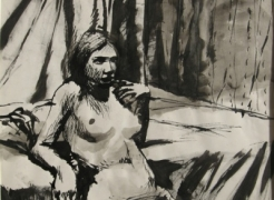 Elmer Bischoff: Figurative Drawings from the 1960s