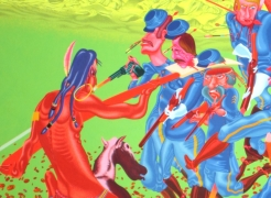Peter Saul: Paintings and Drawings, 1956-1976