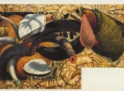 Sandy Winters: New Multi-Panel Paintings