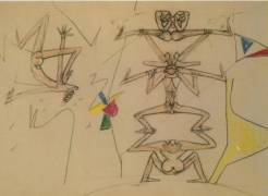 Roberto Matta: Drawings from the 1950's and 1960's (Drawing Gallery)