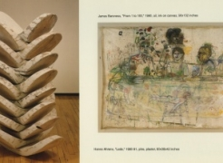 Hanno Ahrens & James Barsness: New Sculpture & New Paintings