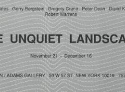 The Unquiet Landscape