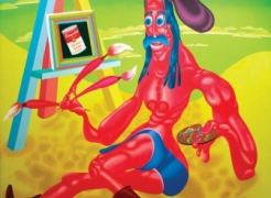 Peter Saul: Radical Figure: Paintings and Drawings from the 1960s and 1970s
