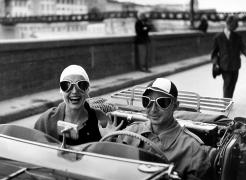 Ruth Orkin: Jinx Allen in Florence