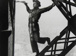 Marc Riboud: Eiffel Tower & New York Times Building