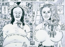 Karen Kilimnik and Sue Williams | Zeitgeist