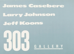 James Casebere, Larry Johnson, Jeff Koons