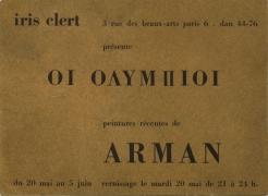 Arman: Les Olympiens