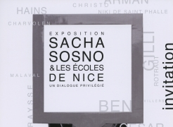 Sacha Sosno & Les Écoles de Nice