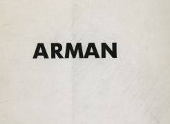 Arman: Objects