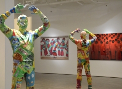 Liu Bolin: A Colorful World?